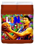 Magical Jeremy Lin Duvet Cover