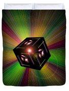 Magical Light And Energy 3 Duvet Cover