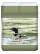 Magical Loons Duvet Cover