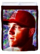 Magical Mike Trout Duvet Cover