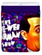 Magical Pee Wee Herman Duvet Cover