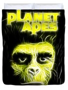 Magical Planet Of The Apes Duvet Cover