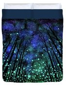 Magical Summer Nights Duvet Cover