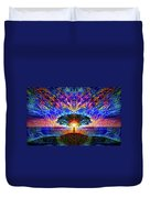 Magical Tree And Sun 2 Duvet Cover