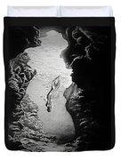 Magical Underwater Cave Duvet Cover