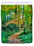 Magical Woodland Walk Duvet Cover