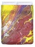 Magma Flow Duvet Cover