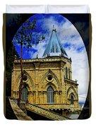 Magnificent Church Of Biblian Duvet Cover