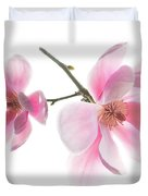 Magnolia Is The Harbinger Of Spring. Duvet Cover
