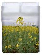 Magnificent Mustard Duvet Cover