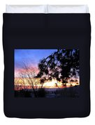 Magnificent Winter Sky Duvet Cover