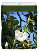 Magnolia Blooming 4 Duvet Cover
