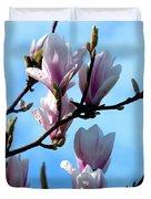 Magnolia Blooms Duvet Cover