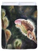 Magnolia Bud By Irina Sztukowski  Duvet Cover