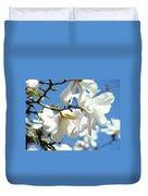 Magnolia Flowers Floral Art Spring Flowering Tree Baslee Troutman Duvet Cover