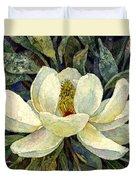 Magnolia Grandiflora Duvet Cover