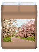 Magnolia Grove Duvet Cover