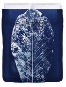 Magnolia Leaf Skeleton Duvet Cover