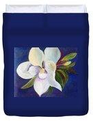 Magnolia Painting Duvet Cover