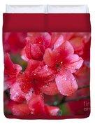 Magnolia Plantation Azaleas Duvet Cover