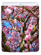 Magnolia Tree Beauty #3 Duvet Cover