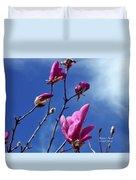 Magnolia Tulip Tree Duvet Cover