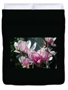Magnolias Are Blooming Duvet Cover