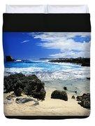 Mahaulepu Koloa Beach Duvet Cover