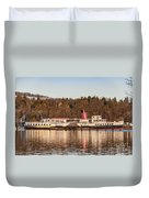 Maid Of The Loch Duvet Cover
