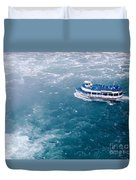 Maid Of The Mist American Side  Duvet Cover