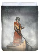 Maid Of The Mists Duvet Cover