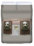 Mailboxes In Toledo Spain Duvet Cover