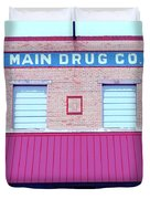 Main Drug Company Duvet Cover