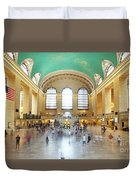 Main Hall Grand Central Terminal, New York Duvet Cover