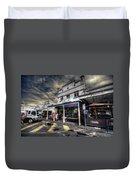 Main Street Jive Duvet Cover