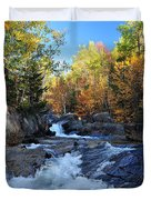 maine 38 Baxter State Park South Branch Stream Duvet Cover