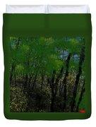 Maine Forest Duvet Cover