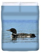 Maine Loon Duvet Cover