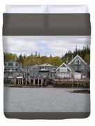 Maine Village Duvet Cover