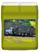 Maintenance Truck Duvet Cover