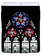 Mainz Cathedral Window Duvet Cover