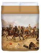 Maiwand Duvet Cover by Richard Caton II Woodville
