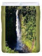 Majestic Akaka Falls Duvet Cover