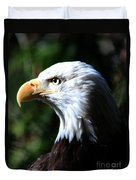 Majestic Bald Eagle Duvet Cover