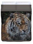 Majestic Bengal Tiger Duvet Cover