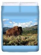 Majestic Bison Duvet Cover