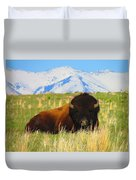 Majestic Buffalo  Duvet Cover