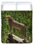Majestic Cheetah Duvet Cover