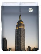 Majestic Empire State Bldg  N Y C Duvet Cover