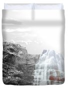 Majestic Falls Selective Color Duvet Cover